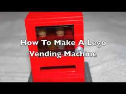 How To Make A Lego Vending Machine Interesting How To Build A Lego Vending Machine YouTube
