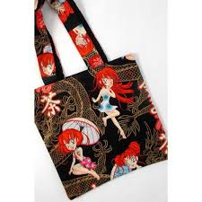 I haven't done in a while and i was itching too. Anime Tote Bag Alexander Henry S Dragon Princess Fabric Asian Themed 40 Liked On Polyvore Feat Animal Print Tote Bags Anime Tote Bag Printed Tote Bags