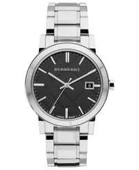 burberry watch men s swiss stainless steel bracelet 38mm bu9001 burberry watch men s swiss stainless steel bracelet 38mm bu9001 watches jewelry watches macy s