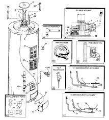 electric hot water heater parts diagram automotive parts diagram water heater wiring red to white at Water Heater Thermostat Wiring Diagram