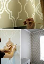 Small Picture How to Paint a Curvy Moroccan Star Design Star designs Walls