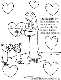 Small Picture 313 best Sunday School images on Pinterest Coloring sheets