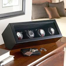 quad watch winders at brookstone buy now
