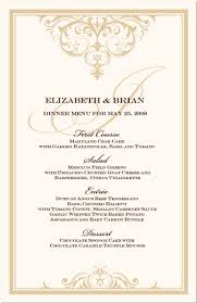 wedding menu cards vintage monogram menu cards special event menu Wedding Reception Menu Cards menu cards give the guests an idea of what is being served and what options are available at an event instead of each server having wedding reception menu card template