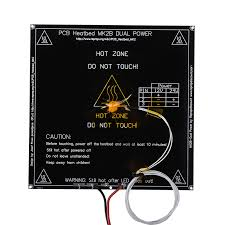 MK2B Heatbed <b>214 * 214</b>*2mm with led and Resistor and cable Hot ...