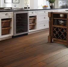 wood floors in kitchen