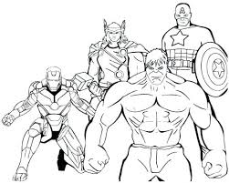 Superhero Coloring Pages Girl Free Boy And Dc Sheets Avengers