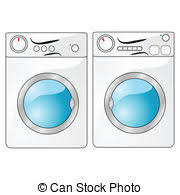 washing machine and dryer clipart. washer and dryer - illustration of a washing machine beside. clipart i