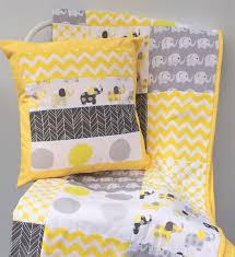 Baby Cot Quilt Patterns ba cot patchwork quilt w yellow and grey ... & Baby Cot Quilt Patterns ba cot patchwork quilt w yellow and grey elephant  pattern Adamdwight.com