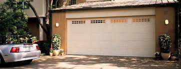 flush panel garage doorThermacore Steel Garage Doors