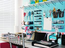 stunning craft storage at wall charming office craft home wall storage