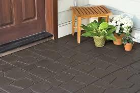 backyard rubber tiles