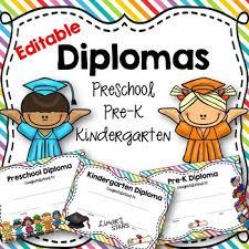 Prek Diploma Pre K Diploma Teaching Resources Teachers Pay Teachers