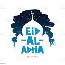 Eid Al Adha Mubarak Kurbanbairam Islamische Fest Des Opfers Stock Vektor  Art und mehr Bilder von Abstrakt - iStock