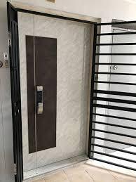 4x7ft double leaf door