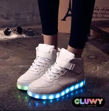 led lighting shoes led via mobile controlled