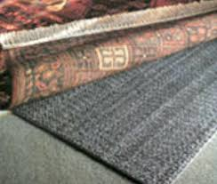 which side of rug pad goes down on carpet white side down which side of rug