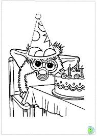 Furby Coloring Page Free Coloring Pages Globalchin Coloring