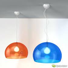 kartell fly pendant lamp by 3d model max obj fbx mtl 1 light bulb installation instructions fitting