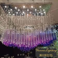 ceiling lamp pendant crystal chandelier colorful crystal lighting