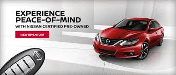 nissan pre owned vehicle