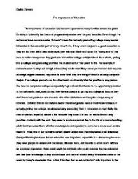 value education essay docoments ojazlink the value of a college education essay edu