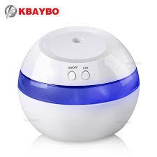 DC <b>5V Ultrasonic Air</b> Aroma <b>USB</b> Humidifier Color LED Lights ...