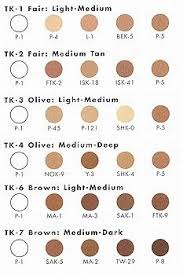 Ben Nye Color Chart Image Result For Ben Nye Creme Foundation Color Chart