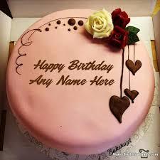 15 Happy Birthday Chocolate Cake With Name Photo