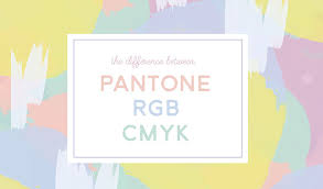 Cmyk To Pantone Color Conversion Chart Whats The Difference Between Pantone Cmyk And Rgb Colors