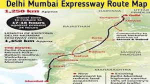 The cheapest way to get from new delhi to mumbai costs only ₹618, and the quickest way takes just 6 hours. Delhimumbaiexpressway Delhi Mumbai Expressway Route Map Youtube