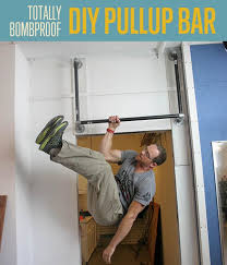 how to make a proof pullup bar diy fitness