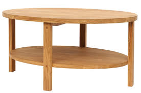 milton oval coffee table