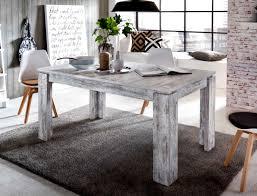 Esstisch Shabby Chic Garten Gartentisch Metalltisch Weiss Tisch