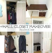 closet makeover ideas hall closet makeover bedroom closet makeover ideas