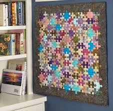 Puzzle Pieces Quilt - Fons & Porter - The Quilting Company & Puzzle Pieces Quilt Adamdwight.com