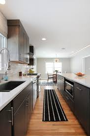 mid century modern kitchen white. Mid Century Modern Lighting Kitchen Contemporary With Aleutian White Design. Image By: Thompson Remodeling S