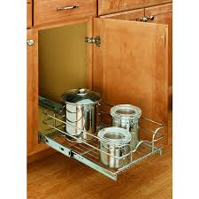 ... Cabinet Basket. Product Image 1. Rev-A-Shelf 11.75-in W x 7-in H Metal 1
