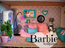 diy barbie dollhouse furniture. Barbie House Made Out Of A Shelf Girl And Glue Gun Diy Dollhouse Furniture