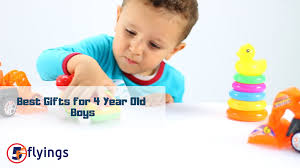 top 5 best gifts for 4 years old boys 2019