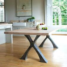 wooden table with metal legs dining tables with metal legs round wood table metal legs