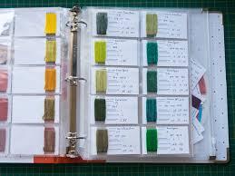 Keeping A Yarn Dyeing Notebook