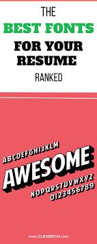 Best Font To Use For Resume 10000TheBestFontsforYourResumeRankedlongpngssl=100 96