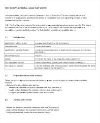 Word Test 3 Script Template Free Word Documents Download Free Premium Test