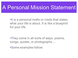 What Is Your Personal Mission 7 Personal Mission Statement Templates Irpens Co