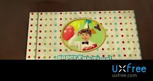Popup Book Template Fluxvfx Happy Birthday Pop Up Book After Effects Template