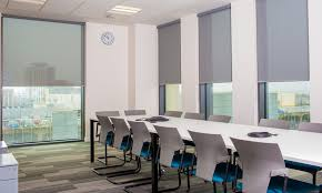 Office window blinds Executive Office Office Partitions Blackout Roller Blinds Cork Window Blinds