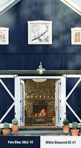 Make your exterior pop with a dark paint color like Polo Blue 2062-10 set