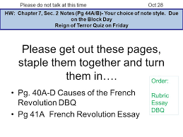 reign of terror quiz on friday ppt video online reign of terror quiz on friday