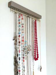 necklace holder wall mount necklace organizer best necklace holder ideas on necklace necklace holder stand necklace holder wall mount jewelry rack wall